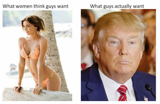 What Men Want Picture: POST YOUR FAVORITE OR NON-FAVORITE POLITICAL CARTOONS HERE