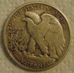 1943 - P Walking Liberty Half Reverse.JPG